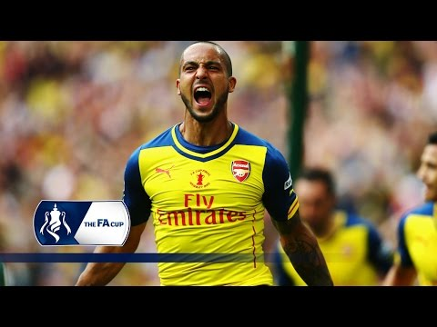 Theo Walcott volley - Arsenal 4-0 Aston Villa | Goals & Highlights