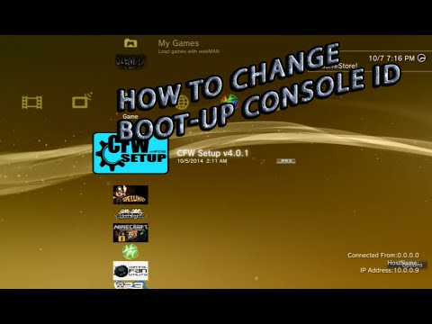 How To Change Your Boot-Up Console Id - No CCAPI Tools Needed!