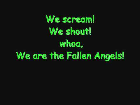 Black Veil Brides- Fallen Angels with Lyrics - YouTube