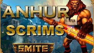 SMITE! Anhur, Ley de la oferta y la demanda! Scrims S3 #2