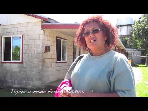 Tapa Cloth Made in Tonga | SabinasWorld