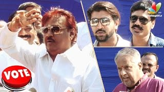 Vijayakanth Says About Vishal Attacks