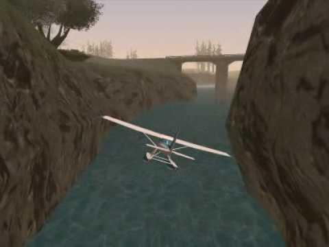 GTA San Andreas Starman Mod - My planes (Mis Aviones)