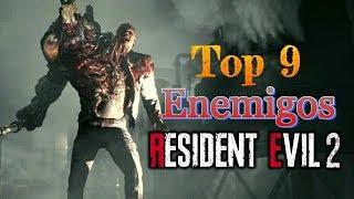 Top 9: Enemigos de Resident Evil 2 Remake