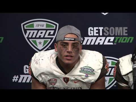 2015 MAC Football Championship: Bowling Green Press Conference