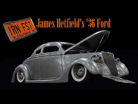 Iron Fist - James Hetfield's 1936 Ford by Blue Collar Customs