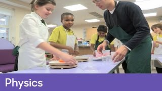 Using jelly to investigate centrifugal force | Physics - The Bloodhound Adventure