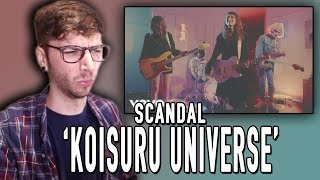"Scandal - ""Koisuru Universe"" REACTION!"