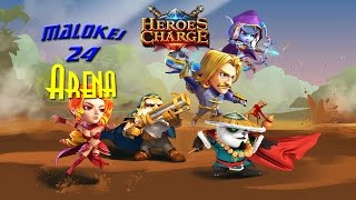 Heroes Charge Arena 4 review 1 place (Арена 4 обзор 1 место)