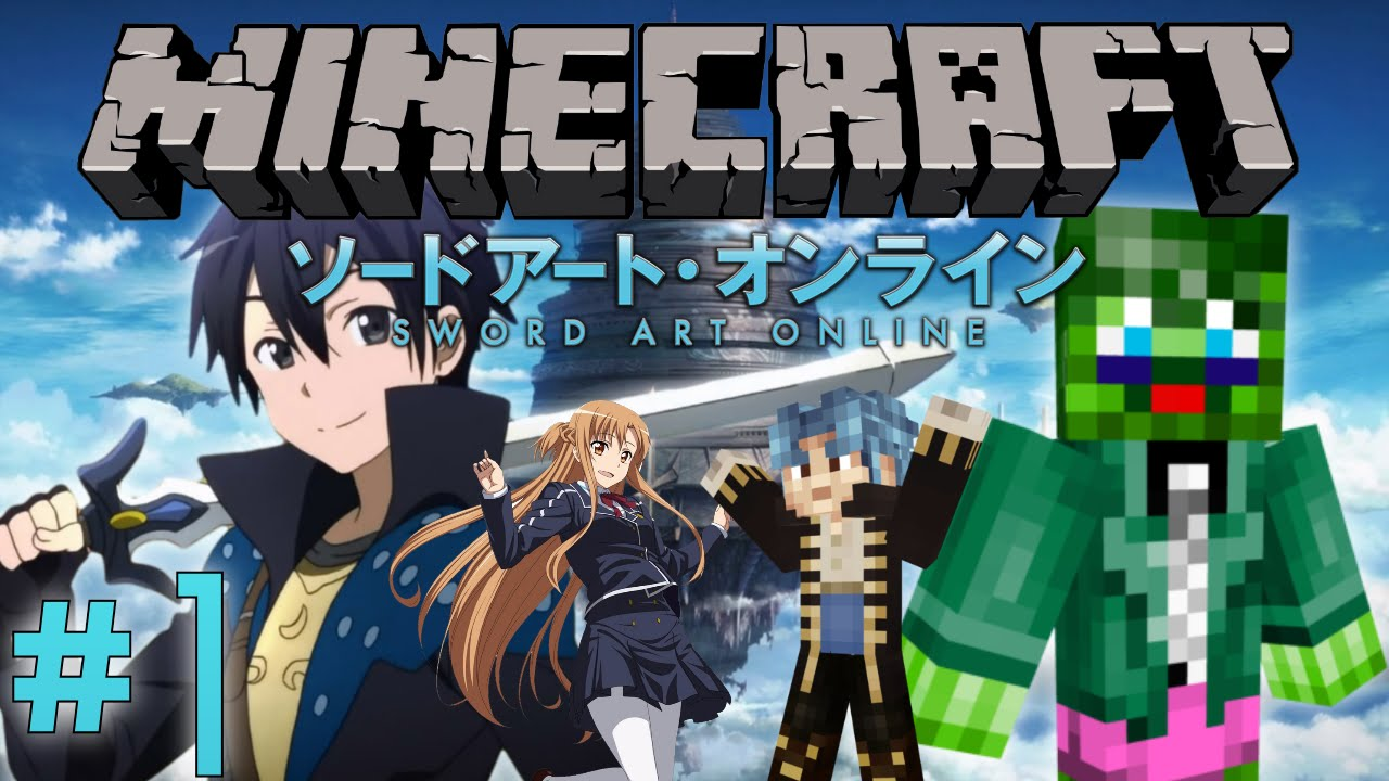 Minecraft Server: Sword Art Online RPG Server Part 1