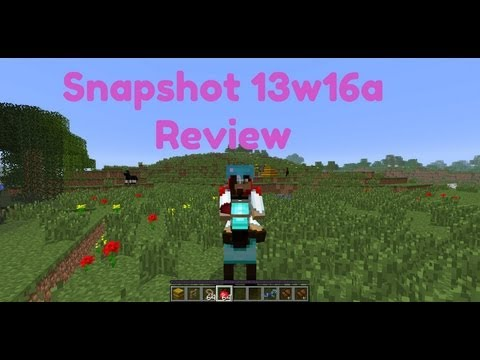 Simp Snapshot Reviews:13w16a Review (Minecraft 1.6 and Horses)