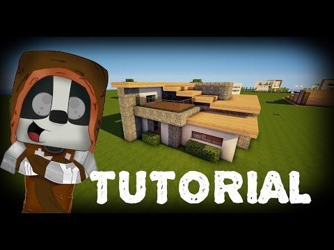 Minecraft: Como hacer una casa moderna #8 Tutoriales construcciones