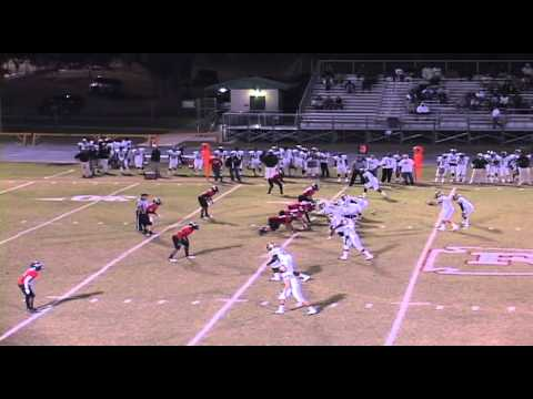 Richie DeNicola - #7 - WR/P - 2012 Trinity Catholic High School Football.mov