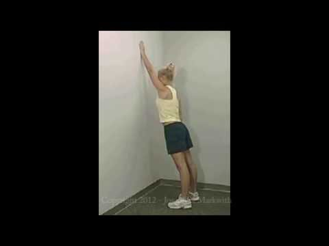Wall Walking - Shoulder Exercise