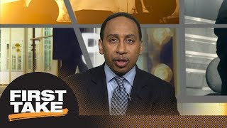 Stephen A. Smith praises Kevin Durant for 2018 NBA Finals MVP performance | First Take | ESP