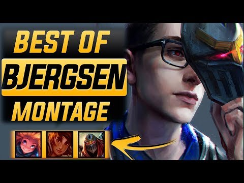 "Download  Bjergsen ""The Legend"" Montage 2017 Best Of Bjergsen 