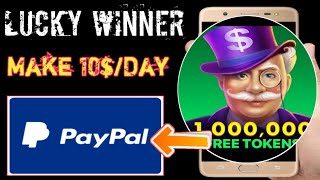 Lucky Winner App || How To Make PayPal Cash || Gift Cards || In Hindi || Tricks Hoster