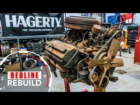 Chrysler Hemi FirePower V8 Engine Rebuild Time-Lapse   Redline Rebuild #3