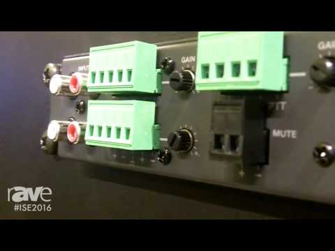 ISE 2016: Bose Introduces FreeSpace Integrated Zone Amplifiers
