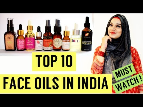 TOP 10 BEST FACE OILS IN INDIA | Dry, Oily, Sensitive & Acne Prone Skin | Ramsha Sultan