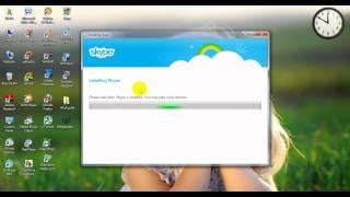 طريقة تحميل برنامج سكايبي | How to donwload skype