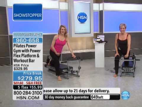 Pilates Power Gym with Power Flex Platform and Workout B...