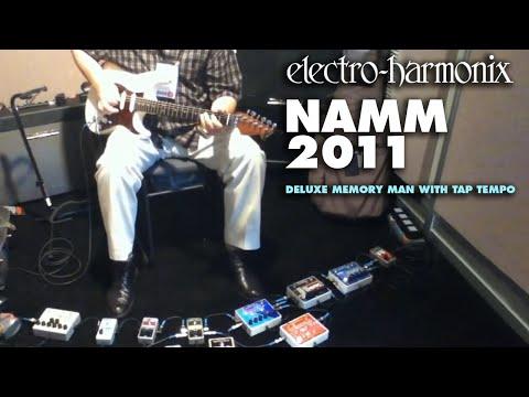 Electro-Harmonix Deluxe memory Man w/Tap Tempo at NAMM2011