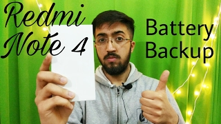 Mi Redmi Note 4 - Battery Backup