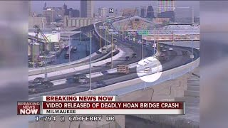 Video released of fatal Hoan Bridge crash