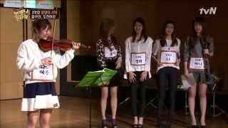Eng Sub Exid Hyerin Amp Hani Audition  Always Cantare Ep01 141205