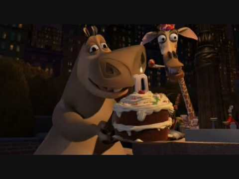 Feliz Cumpleaños - Madagascar