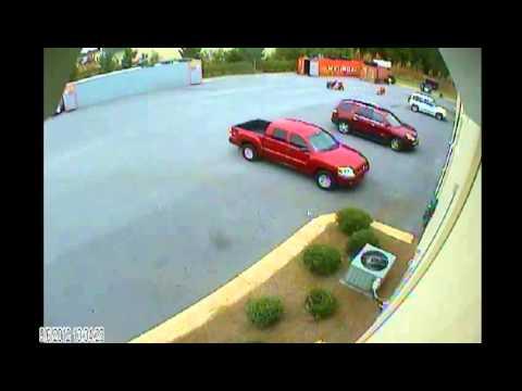Tractor Stunt Test video