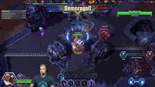 Cho'Gall like Pro'Gall: Team RANKED - 129 Rune Bomb Stacks with Abathur
