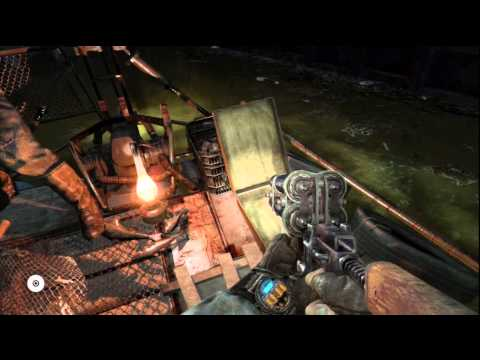 Metro: Last Light Ranger Mode - Dark Waters: Shrimps Intro, Defend Boat, Cigar Dynamite Scene PS3