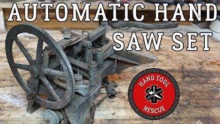 1940s Automatic Hand-Saw Set [Restoration]