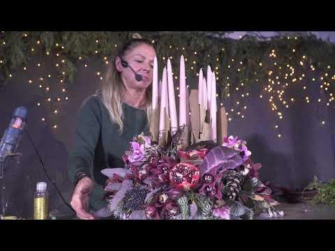 Flora Hungaria virágkötészeti bemutató - Schott Réka 2019.11.13