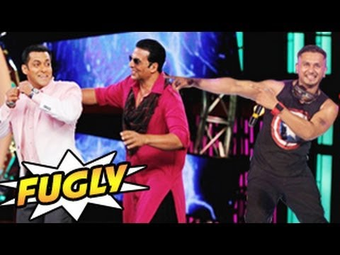 Salman Khan & Akshay Kumar's Yo Yo Honey Singh Song In Fugly video