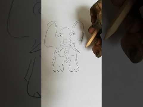 interessanter als der elefant ist die dreckige hand