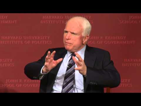 A Conversation with Senator John McCain | Institute of Politics