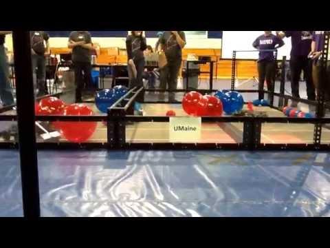 VEX Toss up 2014 Hampden at Erskine Academy