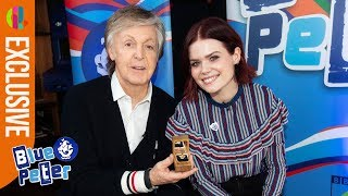 Sir Paul McCartney receives Gold Badge!