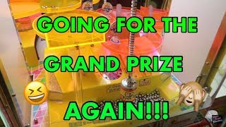 GOING FOR THE GRAND PRIZE AGAIN!!!