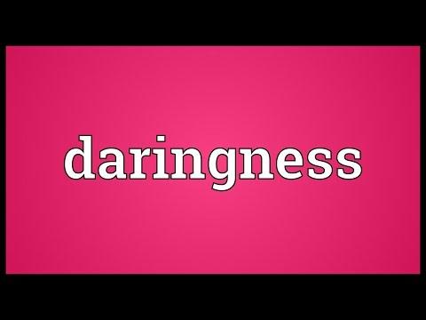 Header of daringness