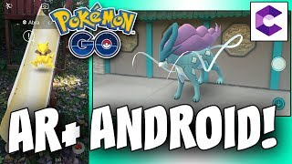 AR+ ANDROID TUTORIAL! HOW TO GET AR PLUS WORKING ON ANDROID IN POKEMON GO!