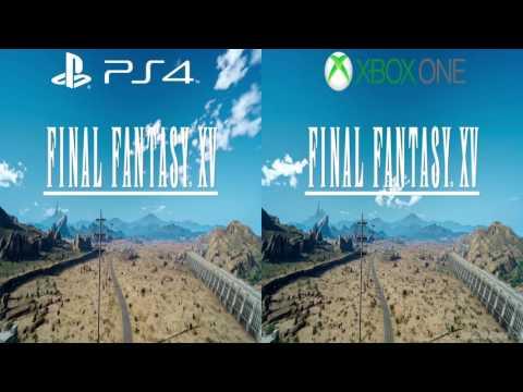 Final Fantasy XV - PS4 vs. Xbox One Graphics Comparison