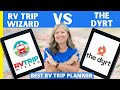 What is the BEST RV Trip Planner App (PROS & CONS)