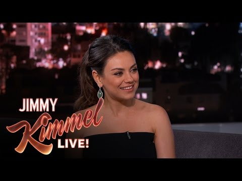 Mila Kunis on Leaving Her New Baby
