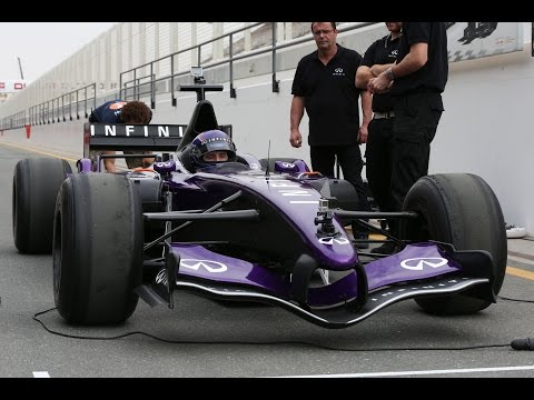 My first time experience on F1 car