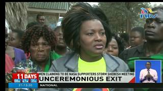 Rachel Shebesh campaign meeting with women disrupted