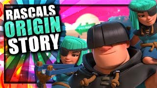 How did the Giant & Archers become the Rascals? - Rascals Story | Clash Royale Origin Story 2018